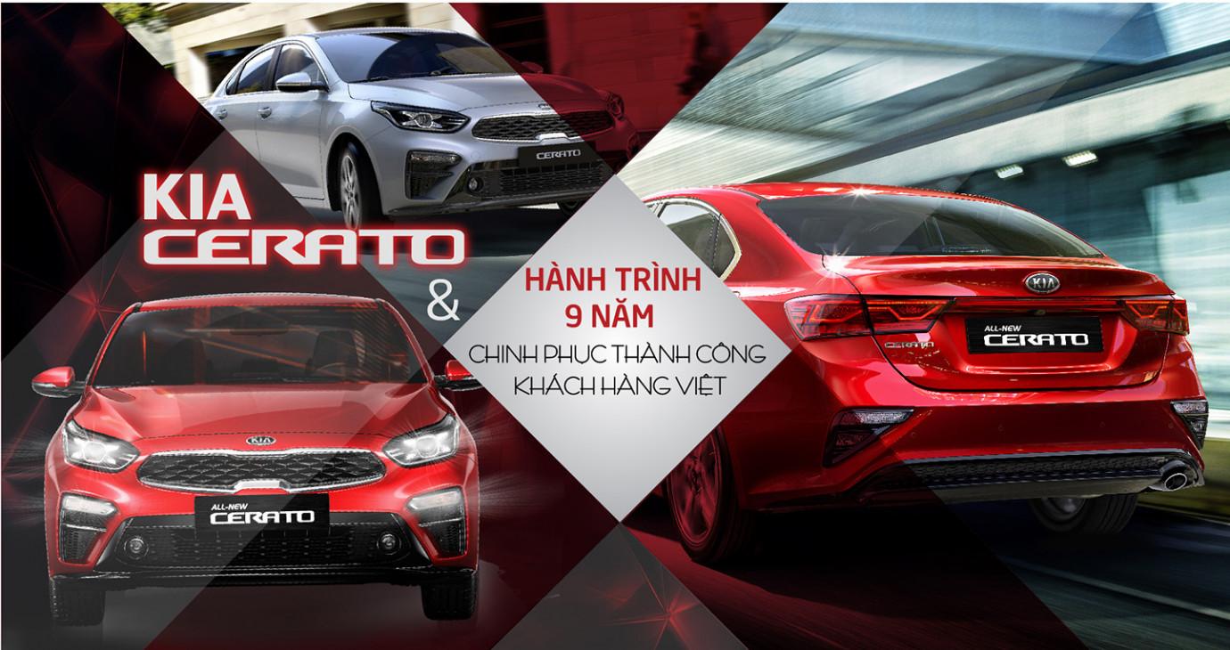 Kia Cerato và hành trình 9 năm chinh phục khách hàng Việt