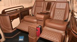 Trải nghiệm xế độ nội thất siêu sang như Maybach S600 Pullman