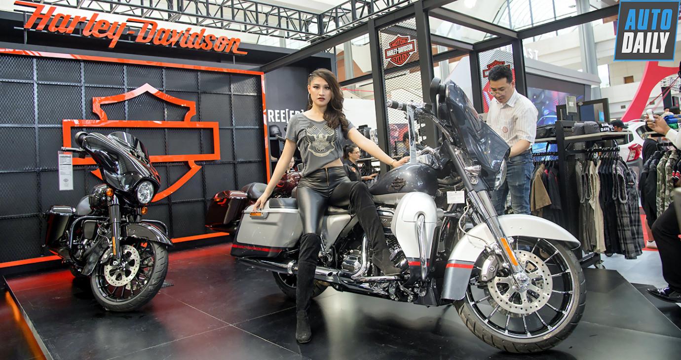 Harley-Davidson mang dàn xe khủng đến Vietnam Auto Expo 2019