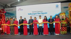 Volkswagen Việt Nam khai trương đại lý đầu tiên tại Thái Nguyên