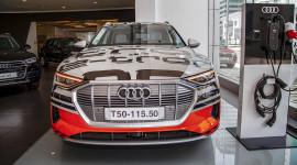 Chiêm ngưỡng xe Audi chạy hoàn toàn bằng điện tại Việt Nam
