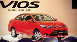 Toyota Việt Nam triệu hồi hơn 200 xe Vios vì lỗi túi khí