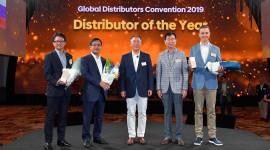 Hyundai Thành Công lần 3 liên tiếp nhận giải thưởng Nhà phân phối toàn cầu của năm