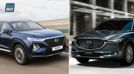 1,4 tỷ, chọn Mazda CX-8 Premium 2 cầu hay Hyundai SantaFe Premium 2 cầu?