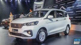 Suzuki Ertiga 2019 giá từ 499 triệu đồng, quyết đấu Xpander