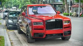 Rolls-Royce Cullinan hơn 40 tỷ, màu độc, độ khủng nhất Việt Nam