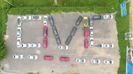 Dàn xe Honda Civic offline hoành tráng tại Hà Nội