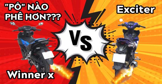 """Winner X đọ """"pô zin"""" với Exciter: PÔ nào nghe PHÊ hơn?"""