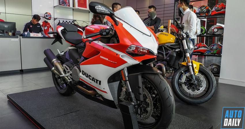 Ducati 959 Panigale Corse có giá 595 triệu đồng tại Việt Nam