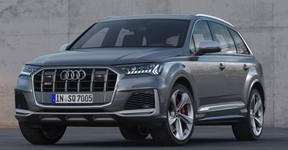 SUV hiệu suất cao Audi SQ7 2020 ra mắt mạnh 435 mã lực