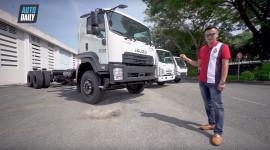 ĐỘT NHẬP nhà máy Isuzu, lái thử xe tải với động cơ chính hãng Nhật Bản