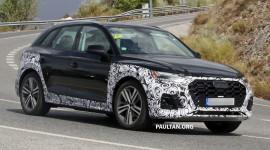 Audi Q5 bản nâng cấp lộ diện trên đường thử, Mercedes GLC dè chừng