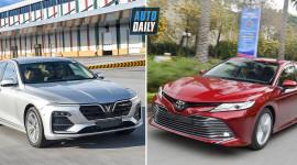 VinFast Lux A2.0 ĐỐI ĐẦU Toyota Camry: Cuộc SO KÈ thú vị