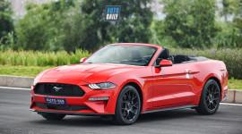 Xe chơi Ford Mustang mui trần giá gần 3 tỷ tại Hà Nội