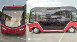 Lộ diện xe bus điện của VinFast với thiết kế rất độc đáo
