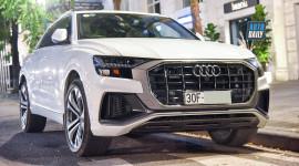 Audi Q8 hơn 6 tỷ đầu tiên về Việt Nam ra biển trắng Hà Nội