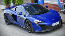Siêu xe McLaren 650S Spider từng của Minh Nhựa ra Hà Nội tìm chủ mới