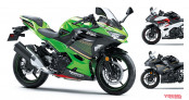Kawasaki Ninja 400 ABS 2020 thêm màu mới, giá từ 6.700 USD