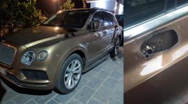 Bentley Bentayga của đại gia Ninh Bình tìm lại được gương sau 2 ngày