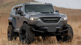 SUV mạnh nhất thế giới Rezvani Tank 2020 ra mắt, giá bán lên tới 349.000 USD