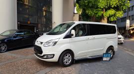 Ford Tourneo che logo lăn bánh trên đường phố Hà Nội, sẽ sớm ra mắt