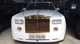 Rolls-Royce Phantom VII mạ vàng, biển tứ quý 9 siêu khủng