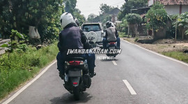 Yamaha NMax 155 2020 bị bắt gặp trên đường thử