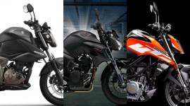 Chọn Suzuki Gixxer 250, Yamaha FZ-25 hay KTM 250 Duke?