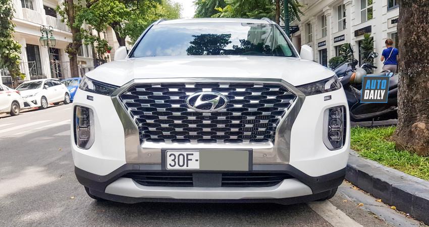 Ảnh chi tiết Hyundai Palisade 2020 giá 2,2 tỷ tại Việt Nam