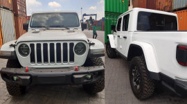 Bán tải đa dụng Jeep Gladiator Rubicon 2020 về Việt Nam