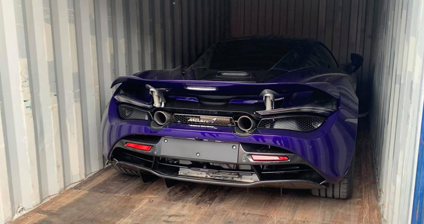 Đại gia Vũng Tàu sở hữu nhiều siêu xe tậu McLaren 720S màu độc