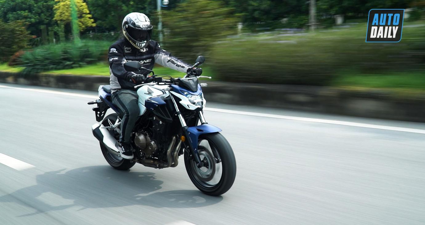 Chạy thử và đánh giá Honda CB500F: Nakedbike 500 phân khối vừa túi tiền