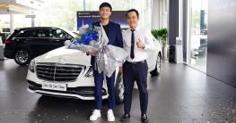 """Quốc Trường tậu Mercedes-Benz S 450 L Luxury sau phim """"Về nhà đi con"""""""