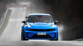 Xe Trung Quốc Lynk & Co 03 Cyan Concept phá kỷ lục tốc độ trên đường đua Nurburgring