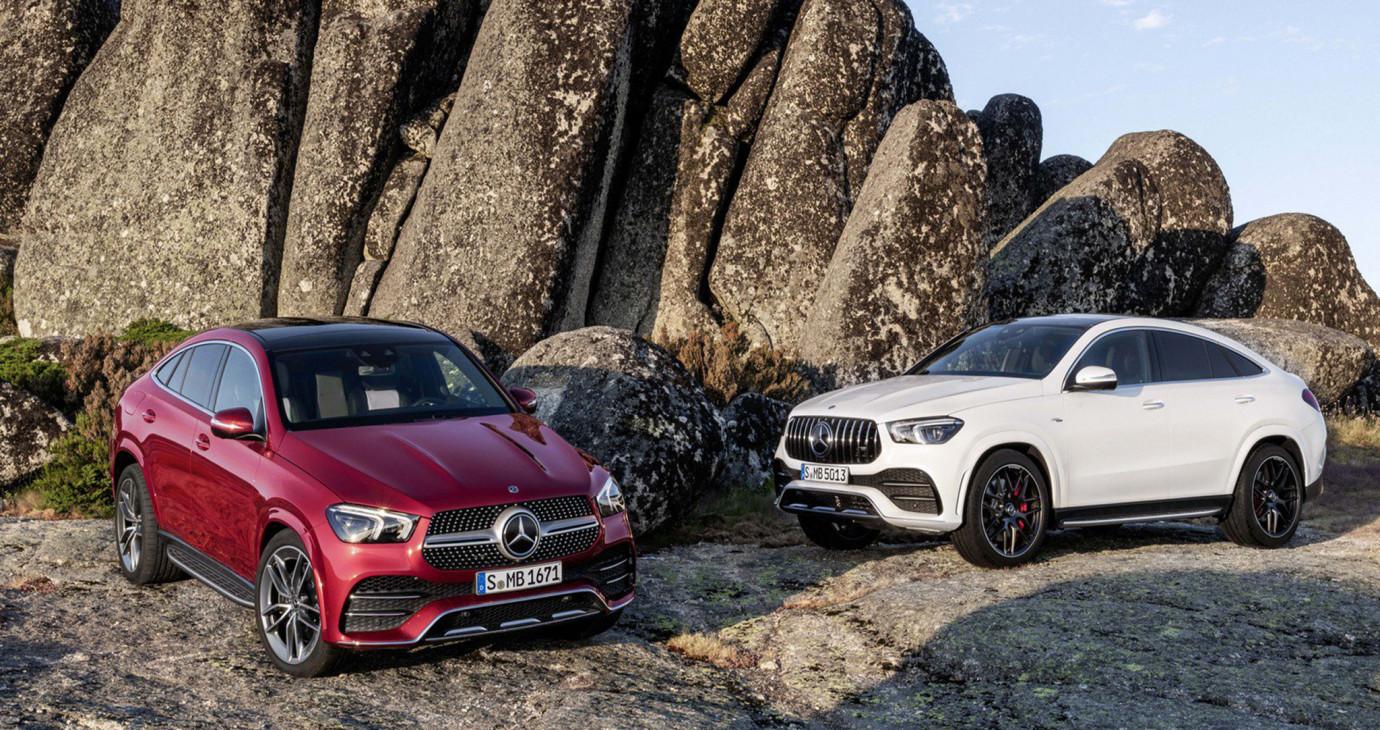 Mercedes-Benz GLE Coupe 2020 ra mắt, quyết đấu BMW X6