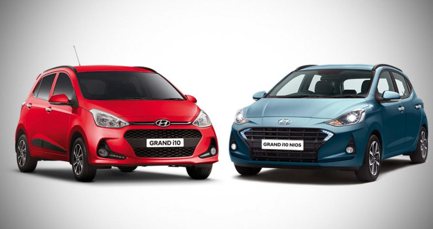 So sánh Hyundai Grand i10 Nios 2019 với phiên bản tiền nhiệm