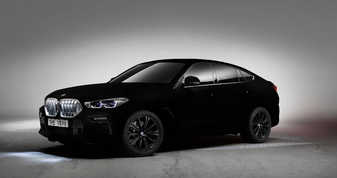 BMW X6 2020 phiên bản màu đen nhất thế giới trình làng