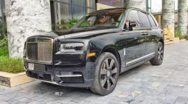 """Rolls-Royce Cullinan hơn 40 tỷ của """"Đại gia điếu cày"""""""