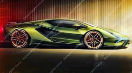 """Siêu xe triệu đô Lamborghini Sian lộ """"ảnh nóng"""" trước ngày ra mắt"""