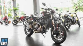"""Cận cảnh """"quái vật"""" Ducati Monster 821 Stealth 2019 đầu tiên tại VN"""
