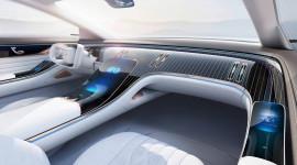 Mercedes-Benz EQ Concept ra mắt, thách thức Porsche Taycan
