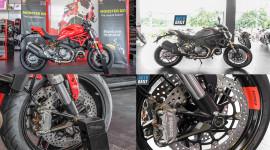 """Ducati Monster 821 Stealth """"lột xác"""" ra sao so với phiên bản tiêu chuẩn?"""