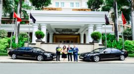 Bàn giao 4 xe Mercedes-Benz S 450 L cho khách sạn 5 sao