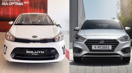 Khoảng 500 triệu, chọn Kia Soluto hay Hyundai Accent?