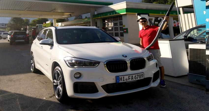 Kinh nghiệm bơm xăng và rửa xe tự động ở châu Âu