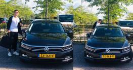 Đoàn Văn Hậu được CLB Hà Lan cấp Volkswagen Passat để di chuyển