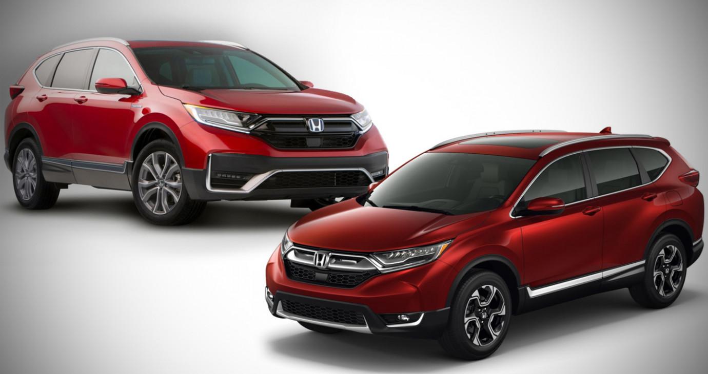 So sánh Honda CR-V 2020 với phiên bản tiền nhiệm