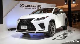 Lexus RX 2020 ra mắt thị trường ĐNÁ, giá từ 138.600 USD