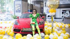 Hotgirl 9x Hà Thành sở hữu Porsche 718 Cayman S 6 tỷ đồng