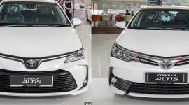 So sánh Toyota Corolla Altis 2019 với phiên bản tiền nhiệm
